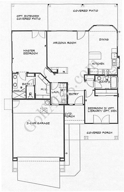 Arizona Traditions Surprise AZ Floor Plans Models – Continental Homes Floor Plans Arizona