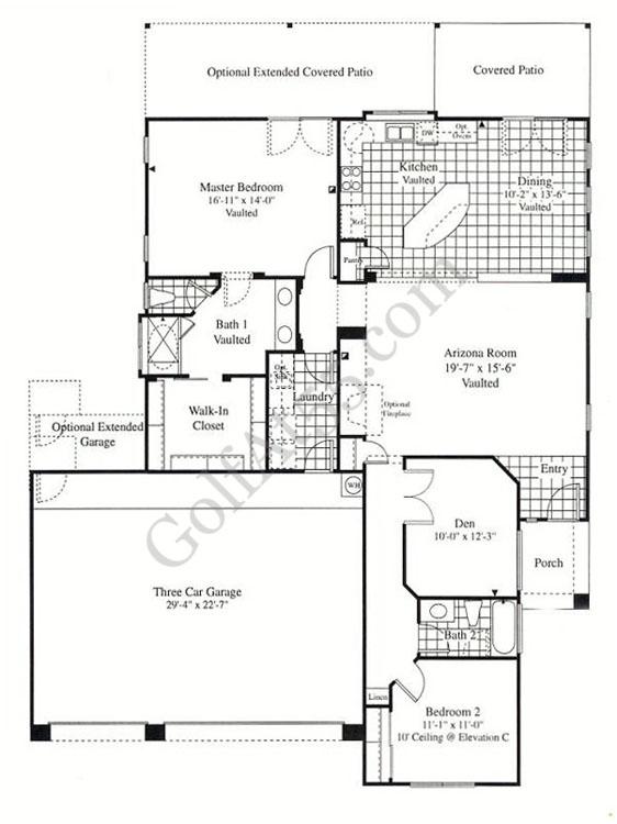 Arizona Home Design Idea Center: Continental Homes Floor Plans Arizona