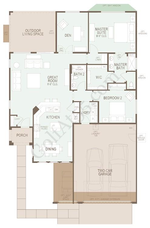 Robson Ranch Floor Plans Floor Matttroy