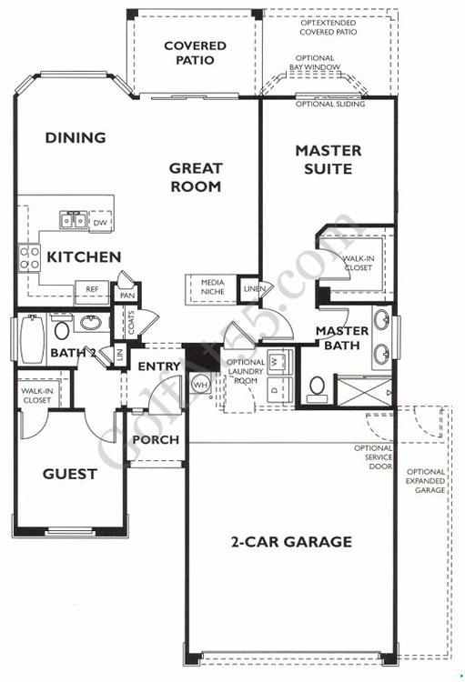 Trilogy at Power Ranch, Gilbert AZ | Floor Plans & Models | GolfAt55.com